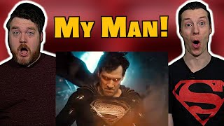 Zack Snyder's Justice League - Official Trailer Reaction