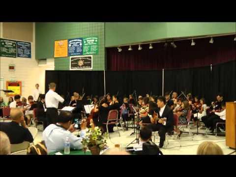 Terramar Elementary School Jazz and Orchestra Benefit Concert 2014 - Orchestra