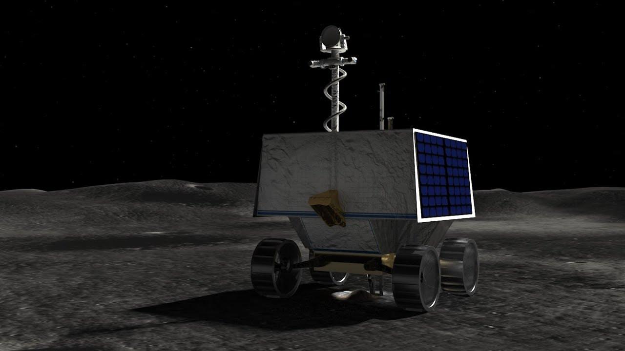 Image result for nasa moon robot water