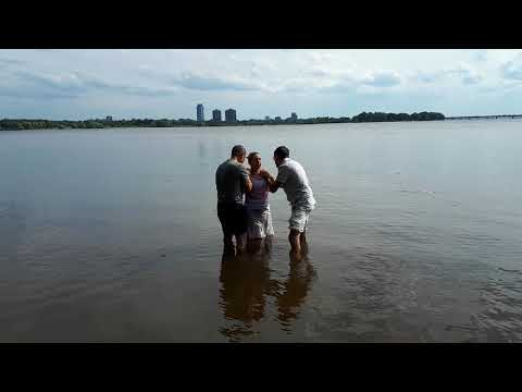 Baptism and received the Holy Spirit, healed at the same time