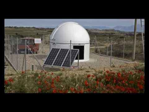 OATA observatorio astronomico Torres de Alcanadre