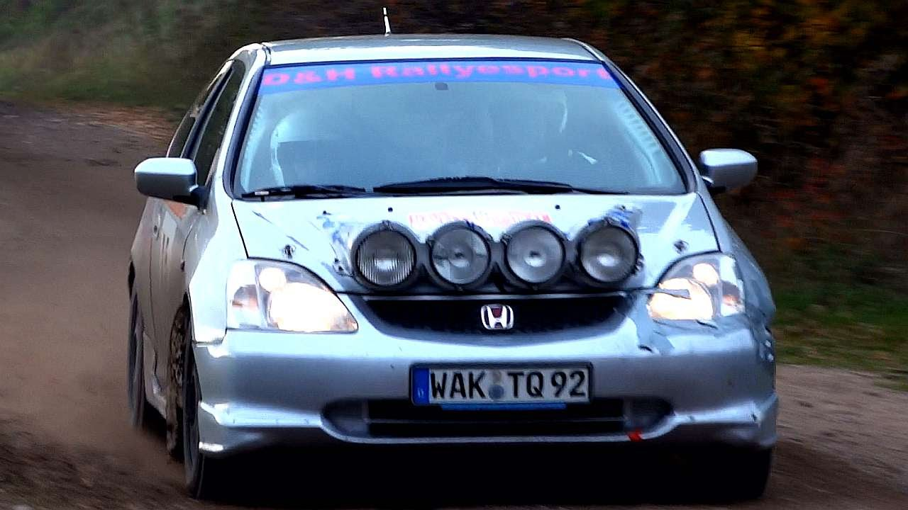 honda civic type r rally action sound youtube. Black Bedroom Furniture Sets. Home Design Ideas