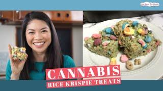Lucky Charms Cannabis Rice Krispie Treats