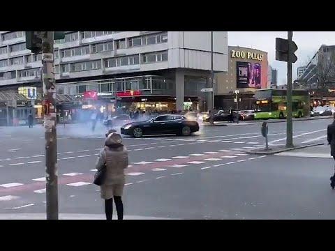 Berlin'de Türk bayraklı düğün konvoyu: Polis 'drift' yaparak ters şeride giren aracı arıyor