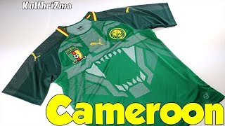 Puma Cameroon 2018 Home Jersey Unboxing + Review from Subside Sports ... 6a0850e4b