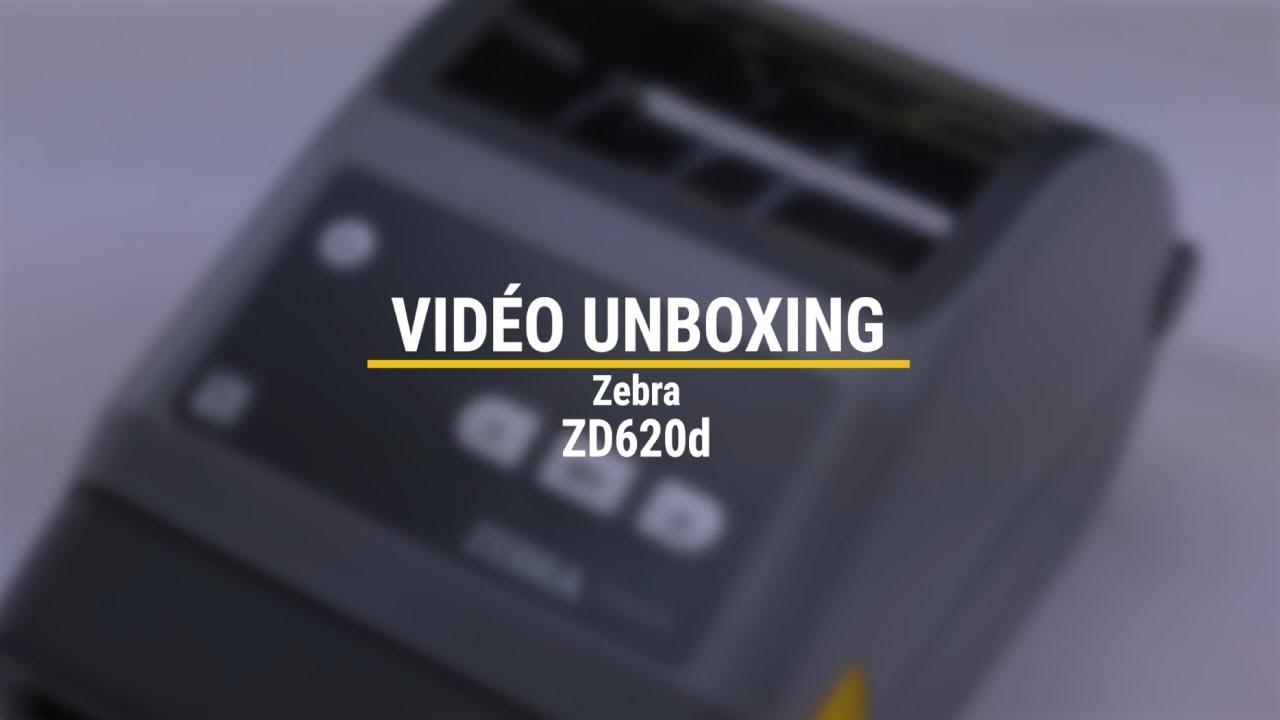Unboxing de l'imprimante ZD620d de Zebra