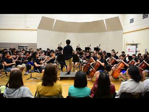 """Coldplay cover: """"Clocks"""" AWARD WINNING ORCHESTRA! Pacific Cascade Middle School Advanced Orchestra"""