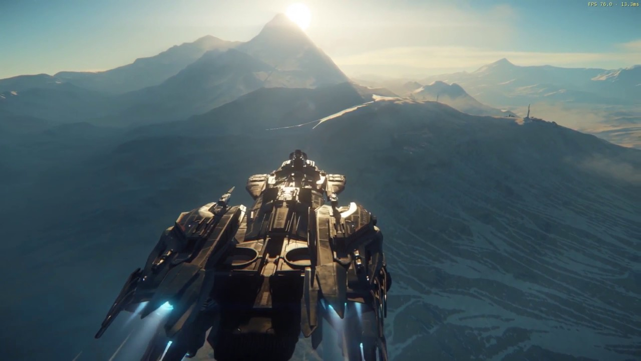 Star Citizen Alpha 3 0 New Gameplay For Ships Youtube