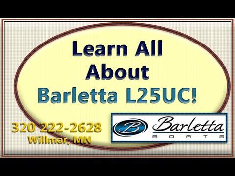 Learn About BARLETTA PONTOON L25UC for Sale Willmar Minnesota Boat Dealer
