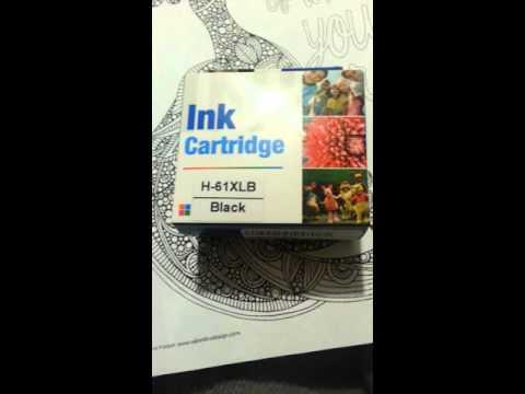 Review of HP 61XL Black MX brand inkjet premium High Yield Original Ink Cartridge