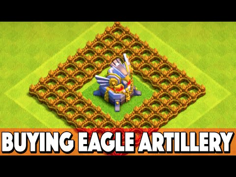 Clash of Clans New Update! BUYING NEW EAGLE ARTILLERY + TROLLING! CoC Update