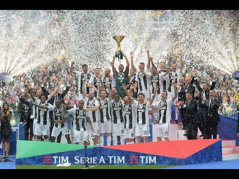 Juventus lift Scudetto number 36!