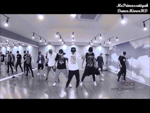 EXO - Dubstep Intro Dance Practice Mirror