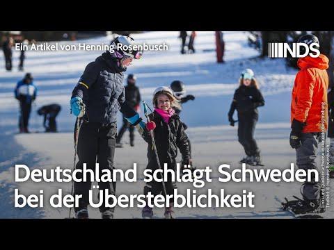 Deutschland schlägt Schweden bei der Übersterblichkeit