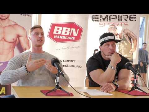Body-Xtreme Revolution 2017 - Mens Physique Athleten der Vorentscheide Mitte, Ost & Süd