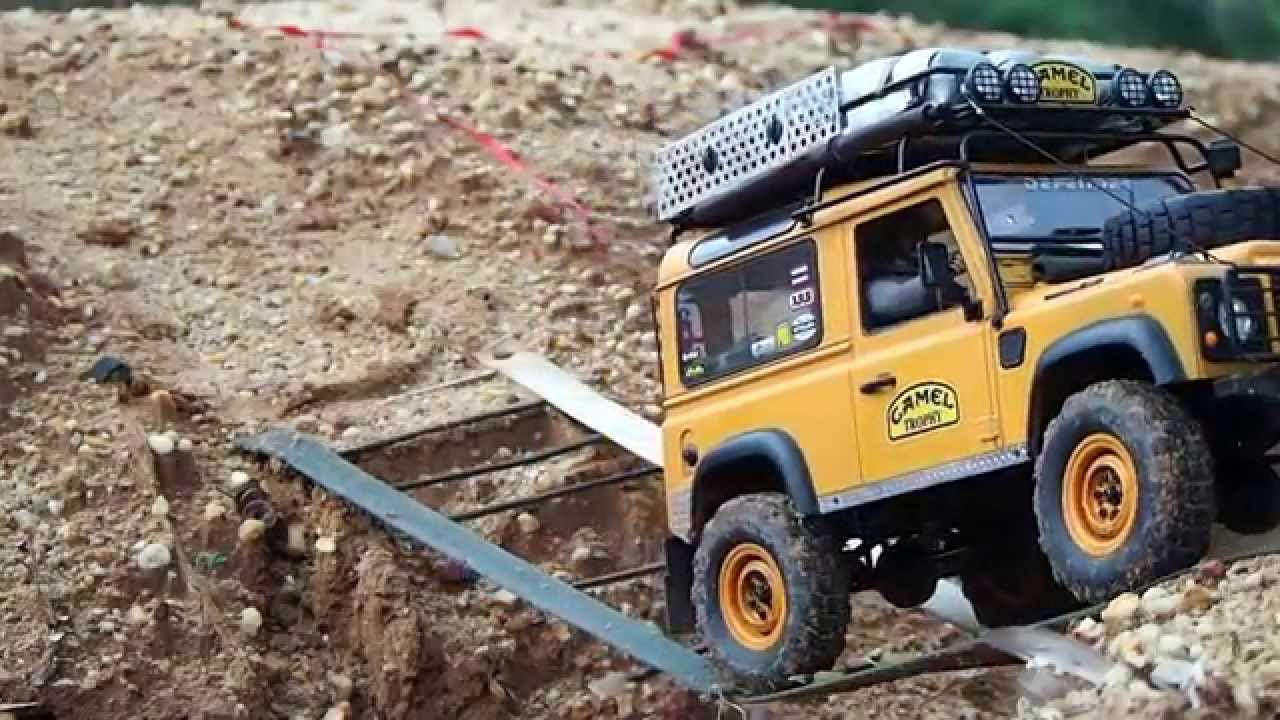 Rc4wd D90 Camel Trophy Test Run 2014 Youtube