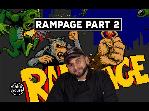 Ralph from Cake Boss Sculpts a Rampage Reptile   Part 2/3