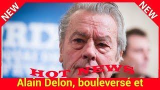 VIDEO – Alain Delon, bouleversé et énigmatique quand il évoque la mort de Dalida