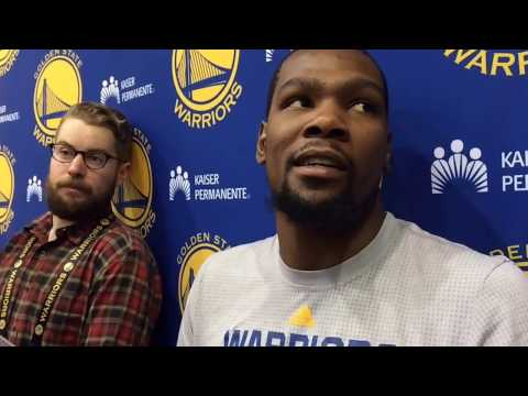 """Durant on Ron Adams' tutelage: """"Sometimes I need to shut up and go do it…Coach (Mike) Brown as well"""""""