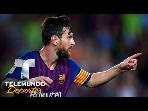 Messi manda, Vidal debuta y el Barça brilla   La Liga   Telemundo Deportes