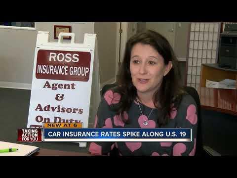 Car insurance rates spike along U.S. 19