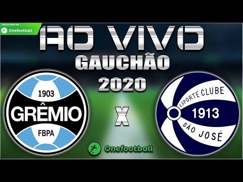 Grêmio x São José-RS Ao Vivo | Gauchão 2020 | 3ª Rodada | Narração