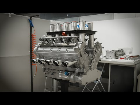 This company is still building F1 V10 engines that you can buy today