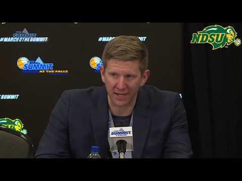 NDSU Men's Basketball Vs Omaha Press Conference - March 12th, 2019