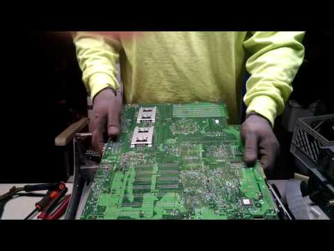 Scrapping Dell Poweredge 2600 Server For Gold and Other Precious Metal Recovery