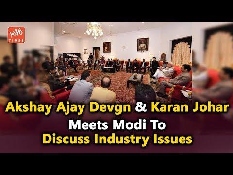Akshay Kumar, Ajay Devgn And Karan Johar Meets PM Modi To Discuss Industry Issues | YOYO Times