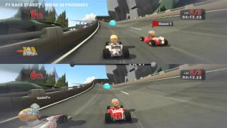 F1 Race Stars - Gameplay - First Look (HD)