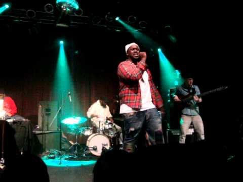 Smoke Dza live Highline Ballroom NYC Bluroc tour 2010