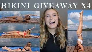 bikini review/try on haul & GIVEAWAY -  Volcano Swimwear