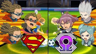 [Full HD 1080P] Inazuma Eleven Extra Match ~ Krypton vs Omega ※Pokemon Anchor※