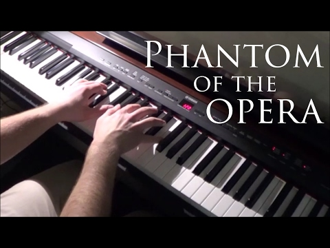 The Phantom of the Opera - The Music of the Night - Piano Cover