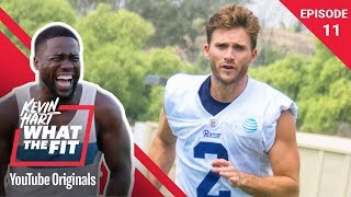 Download LA Rams Training Camp with Scott Eastwood | Kevin Hart: What The Fit Ep 11 | Laugh Out Loud Network Mp3 and Videos