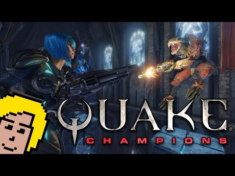 """QUAKE CHAMPIONS"" FIRST LOOK"