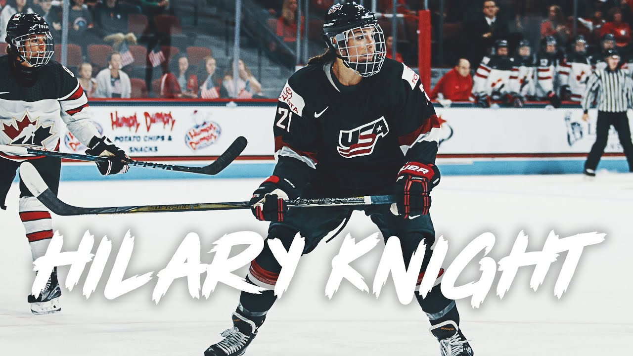 What gear does Hilary Knight use?