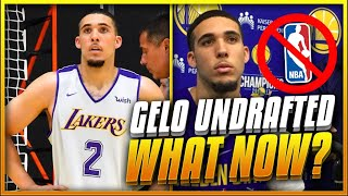 Is LIANGELO BALL'S Career Over After Going UNDRAFTED?   What's NEXT For GELO?