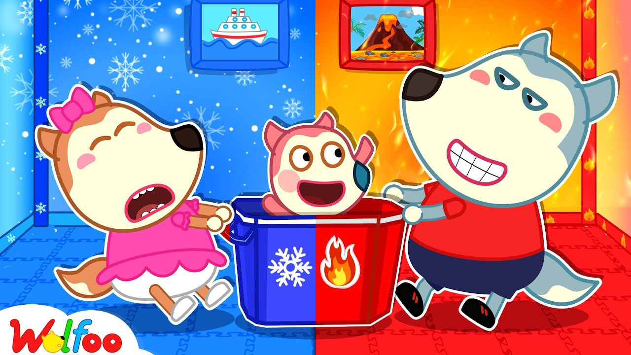 Download Wolfoo's Hot vs Cold Roommate - Kids Stories About Wolfoo Family | Wolfoo Family Kids Cartoon