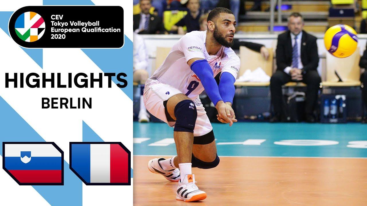 Download Slovenia vs. France - Highlights | CEV Men's Tokyo Volleyball Qualification 2020