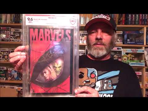 My First CBCS Graded Comic Book Haul  Verified Signatures