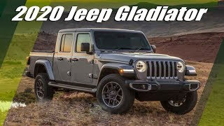 2020 Jeep Gladiator Pickup Truck First Official Images And Details Leaked