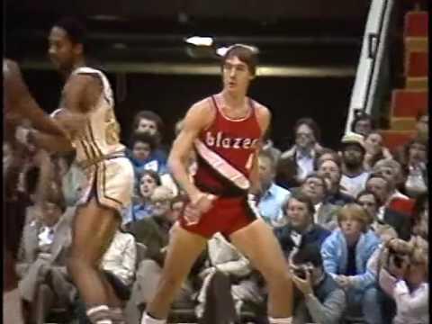 Jim Paxson NBA Exhibition