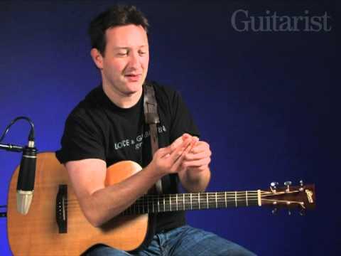 Clive Carroll Speedy Grooves video tutorial Guitarist Magazine