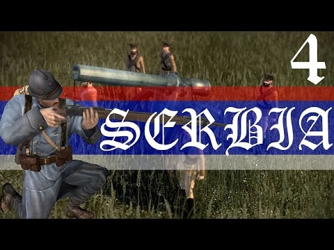 Napoleon Total War Great War Mod (5.1.4) Serbia VH/VH Let's Play Ep.4 MIRACLE AT VIENNA