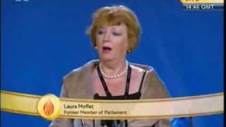 Laura Muffet  Former Member of Parliment UK at Jalsa Salana UK- 2010.