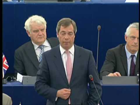 Godfrey Bloom MEP on Gordon Brown's speech in the European Parliament before G20 summit.