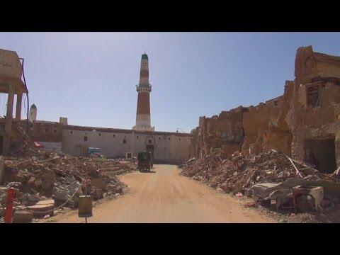 War in Yemen: Saada, a city in ruins