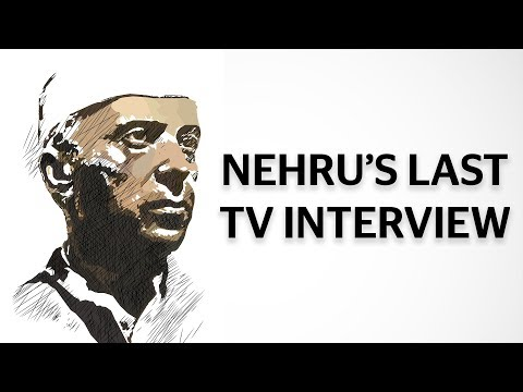 Nehru's Last TV Interview: What He Thought About India At The Time